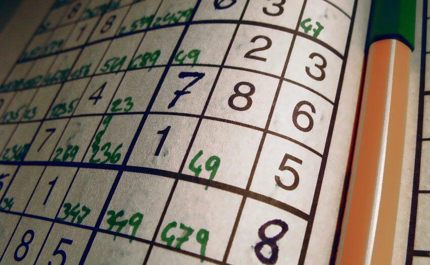 Halbausgefülltes Sudoku (Bild: FreeImages.com/Martin Boose)